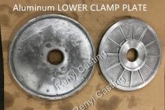 Aluminum LOWER CLAMP PLATE