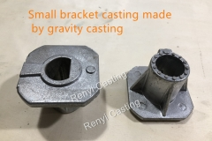 small bracket casting made from gravity casting process