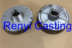 Aluminum casting of CENTRAL FLANGE