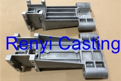 Lower arm casting for mixer painting machine