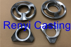 Mirror polish ring for meat mincer machine