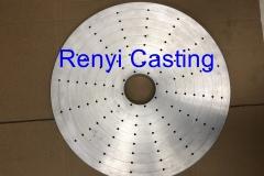 large CNC location plate