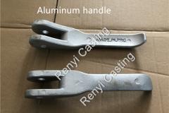 Aluminum handle,lever