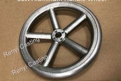 Cast Aluminum handle wheel