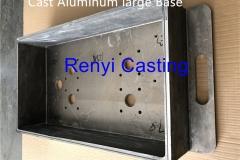 Cast Aluminum large Base