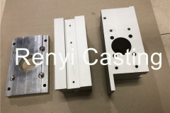 Aluminum block, cover