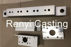 CNC machined aluminum Block, plate