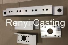 CNC machined aluminum Block, plate