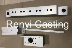 CNC machined aluminum long block,connect plate