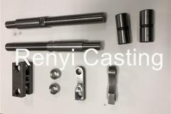 CNC machined shaft, bracket