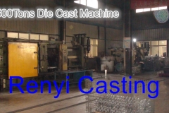 500Tons Die Cast Machine