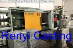 750Tons Die Cast Machine