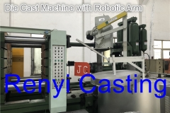 Die Cast Machine with Robotic Arm
