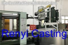 Die Cast Machine with Robotic Arm
