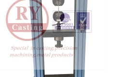 Mechanical properties tester for Cast aluminum test bar tensile, elongation inspection