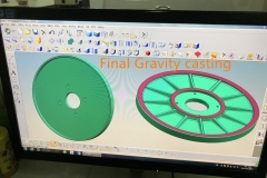 Final gravity casting product