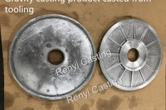Gravity casting product casted