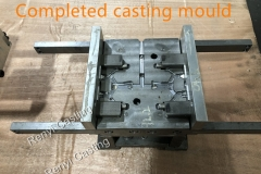 Completed casting mould