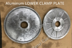Aluminum LOWER CLAMP PLATE