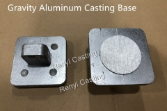 Gravity Aluminum Casting Base
