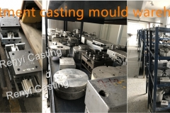 Investment casting mould warehouse