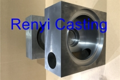 Duction iron large gearbox housing machined
