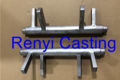 Stainless Steel casting of pivot shaft