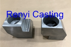 Stainless steel AISI304 gearbox housing casting machined