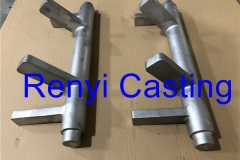 pivot shaft investment casting 460mm long