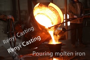 Iron foundry equipment