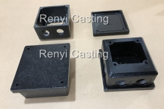 2 size terminal box & cover