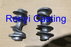 Cast iron Helix for meat mincer
