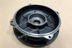 Cast iron motor flange