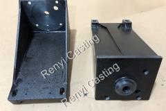 Ductile iron motor frame casting