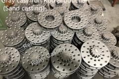 Gray cast iron rod