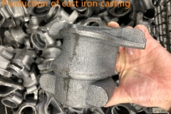Production of cast iron casting