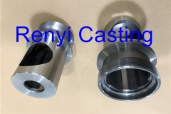 Sand casting for cast iron Meat mincer Body machined