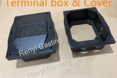 Terminal box & cover