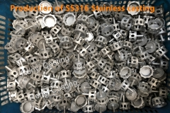 Production of SS316 stainless steel casting