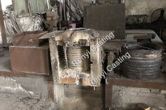 Step 10 Intermediate frequency furnace melting steel for casting