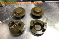 Step 2 Cooling green pattern,mold