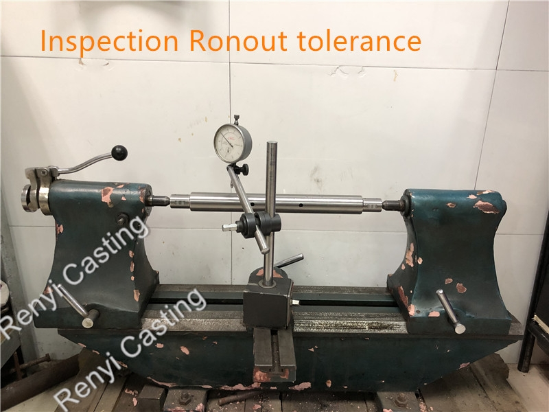 Inspection Ronout tolerance