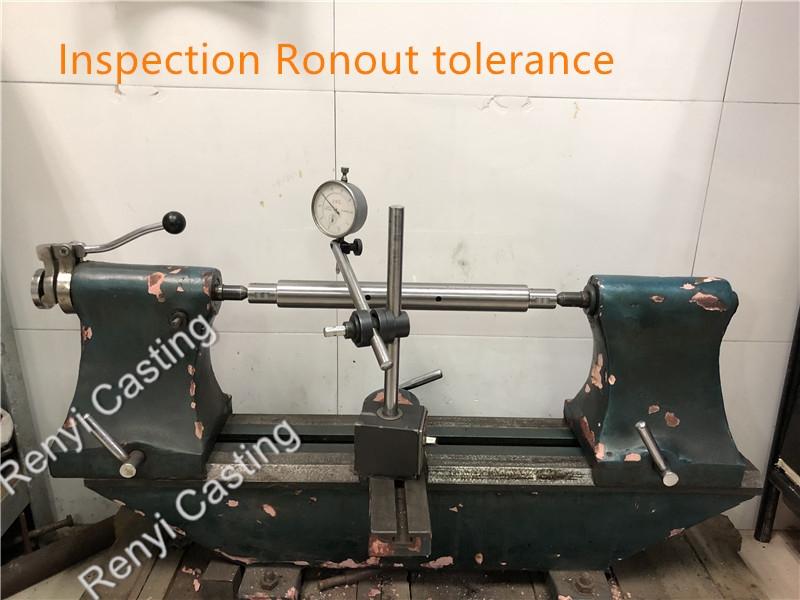 Inspection Ronout tolerance