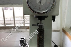 Brinell  hardness tester to QC the lower BHN hardness products