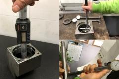 Measuring inner bore diameter