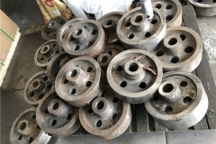 Large wire rope sheave raw casting