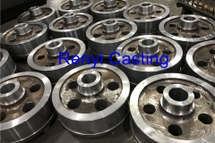 Mass production Machining rope sheave